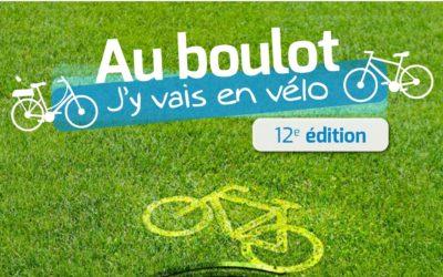 Au boulot, j'y vais en vélo!